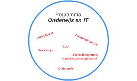Pogramma Onderwijs en IT