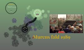 Murens fald 1989