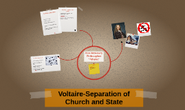 Voltaire-Separation of Church and State
