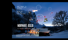 To Norway, Oslo!