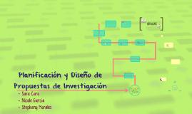 Planificacion y Diseño de Propuestas de Investigacion