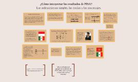 Copy of ¿Cómo interpretar los resultados de PISA? Los ordenamientos simples, las medias y los porcentajes. Parte IIl Medias y Porcentajes