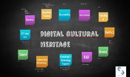 DIGITAL CULTURAL HERITAGE - Smart Culture