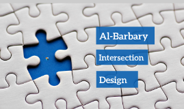 Al Barbary Intersection Design