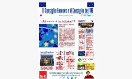 Il Consiglio e il Consiglio dell'UE