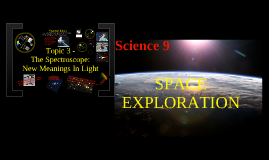 Sci 9- Space Unit Topic 3