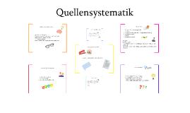 Quellensystematik