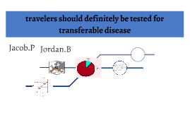 travelers should definitely be tested for transferable disea