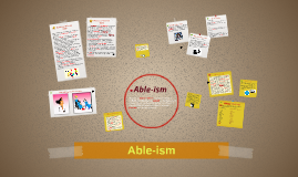 Able-ism