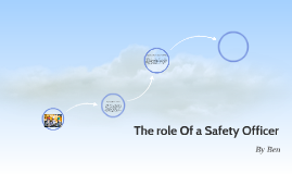 The role Of Safty Officer