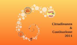 Copy of Cittadinanza & Costituzione 2014