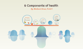6 components of health