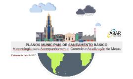 Florianópolis: PLANO MUNICIPAL DE SANEAMENTO BÁSICO