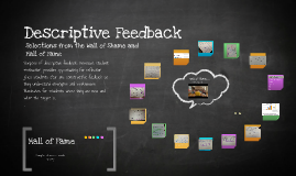 Copy of Copy of Descriptive Feedback