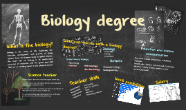 Biology degree