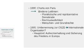 1990: Charta von Paris