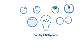 Faculty LRC Updates