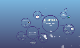 Chapter 3 Water and Life