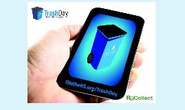 Olathe Trash Day App City Council Presentation