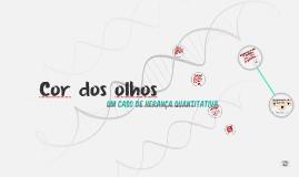 Copy of Cor dos olhos