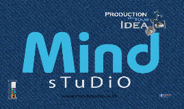 Copy of Mind Studio [Production on your idea]