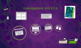 Investigations Unit 8.3.6