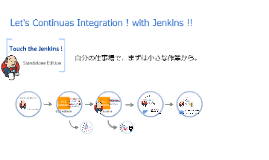 Touch the Jenkins Standalone