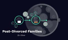 Post-Divorce Families