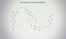 SAN BARTOLO´S MONTEHERMOSO