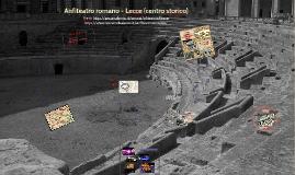 Anfiteatro romano - Lecce (centro storico)