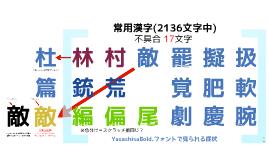 日本語フォント不具合報告