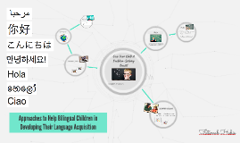 Approaches to Help Bilingual Children in Developing Their La