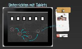 Copy of Unterrichten mit Tablets