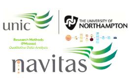 Week 7 - Qualitative Data Analysis