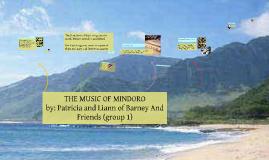 THE MUSIC OF MINDORO