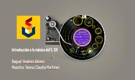 Introducción a la música del S. XX