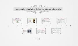 Desarrollo Histórico de los DDHH en el mundo