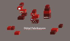 Dijital Fabrikasyon
