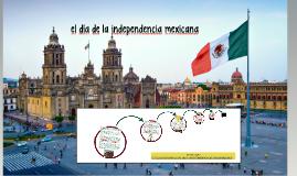 el día de la independencia mexicana