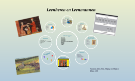 Copy of Leenheren en Leenmannen