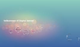 Aktivitetsleder Digital Senior