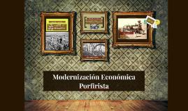 Modernización Económica Porfirista
