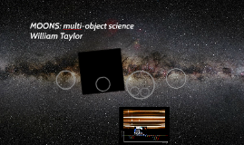 MOONS: multi-object science