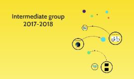 Intermediate group 2017-2018