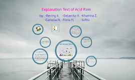 How Acid Rain is formed