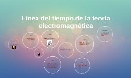 Copy of Línea del tiempo de la teoría electromagnética