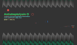 Antistreptolysin O