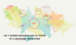 LOS 7 SABERES NECESARIOS PARA EL FUTURO DE LA EDUCACION- EDG
