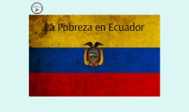 Poverty in Ecuador