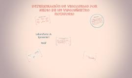 Copy of DETERMINACIÓN DE VISCOSIDAD POR MEDIO DE UN VISCOSÍMETRO ROT